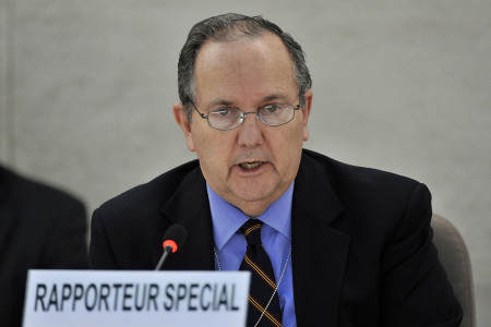 Juan Mendez, Special Rapporter on Torture and other cruel, inhuman or degrading treatment or punishment, (c) UN Photo, Jean Marc-Ferre