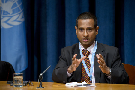 Dr. Ahmed Shaheed, Special Rapporteur on the situation of human rights in Iran
